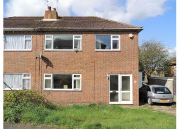 Thumbnail 3 bed semi-detached house for sale in Mooring Road, Rochester