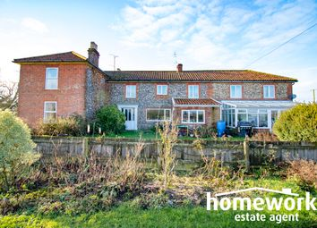Thumbnail 7 bed detached house for sale in Old Litcham Road, Mileham