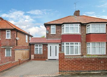Thumbnail 4 bed semi-detached house to rent in Ashness Gardens, Greenford