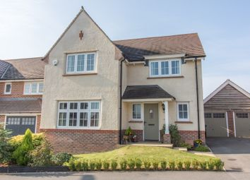Thumbnail 4 bed detached house for sale in Bronze Road, Cawston, Rugby