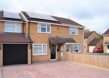 Thumbnail 3 bed semi-detached house for sale in Marigold Close, Swindon