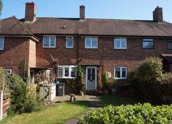 Thumbnail 3 bed terraced house for sale in Gibbons Road, Four Oaks, Sutton Coldfield