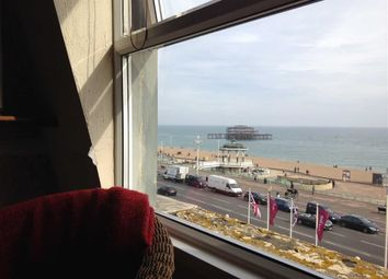 Thumbnail 1 bedroom flat to rent in Kings Road, Brighton, East Sussex