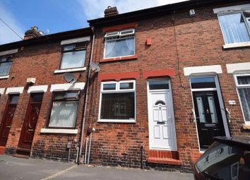 Thumbnail 3 bedroom terraced house to rent in Capewell Street, Stoke-On-Trent, Staffordshire