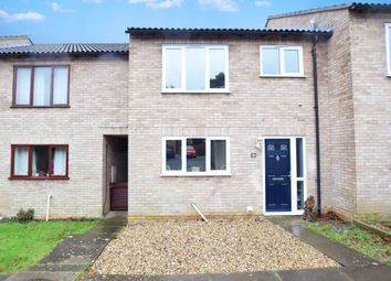 Thumbnail 3 bedroom terraced house for sale in Newton Croft, Sudbury
