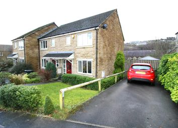 Thumbnail 3 bed town house for sale in Syke Lane, Sowerby Bridge