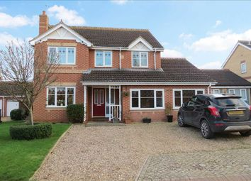 Thumbnail 4 bed detached house for sale in Palmer Court, Sleaford