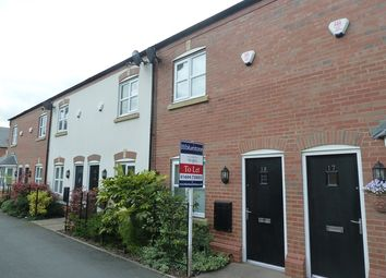 Thumbnail 2 bed town house to rent in 19 Dickens Meadow, Wem
