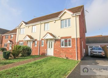 Thumbnail 3 bed semi-detached house for sale in Codlins Lane, Beccles