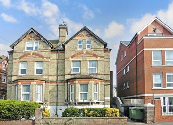 Thumbnail 2 bed flat for sale in Christ Church Road, Folkestone, Kent
