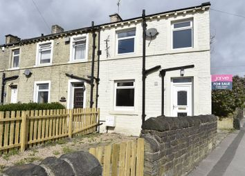 Thumbnail 1 bedroom terraced house for sale in Quarmby Road, Huddersfield