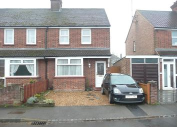 Thumbnail 2 bed semi-detached house for sale in Honey Hill Gardens, Bedford