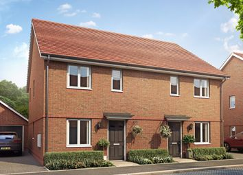 "Thumbnail 3 bed semi-detached house for sale in ""Ashurst"" at Hyde End Road, Spencers Wood, Reading"