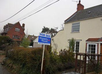 Thumbnail 2 bed semi-detached house for sale in Marsh Lane, Carlton Colville, Lowestoft, Suffolk