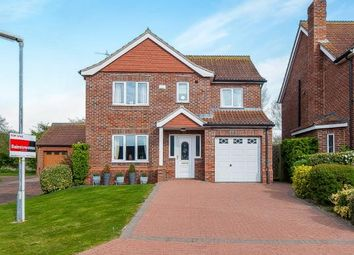 Thumbnail 4 bed detached house for sale in Swaby Close, Marshchapel, Grimsby