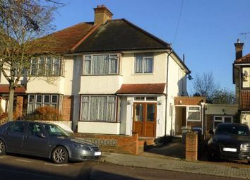 Thumbnail 4 bed semi-detached house to rent in Preston Road Area, Wembley