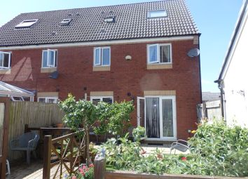Thumbnail 3 bed semi-detached house for sale in Ffordd Y Gamlas, Bynea, Llanelli