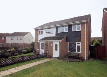 Thumbnail 3 bed semi-detached house for sale in Gibson Close, Lee On The Solent