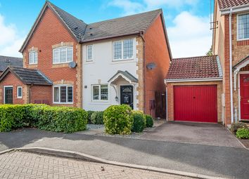 Thumbnail 2 bed semi-detached house for sale in Lornas Field, Hampton Hargate, Peterborough