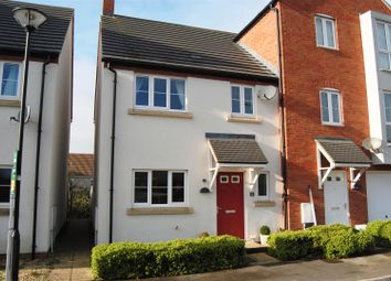 Thumbnail 3 bed end terrace house for sale in Delius Close, Swindon