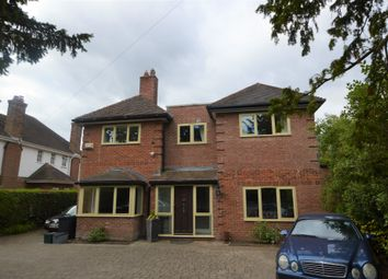 Thumbnail 4 bed detached house to rent in Church Lane, Upton, Chester