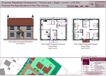 Thumbnail 4 bed detached house for sale in Thorpe Lane, Eagle, Lincoln