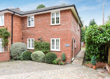 Thumbnail 2 bedroom semi-detached house for sale in South Ascot, Berkshire