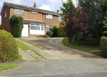 Thumbnail 5 bed semi-detached house for sale in Fermor Way, Crowborough