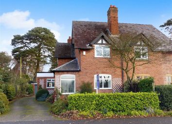 Thumbnail 3 bed semi-detached house for sale in Overdale Lane, Oakmere, Northwich, Cheshire
