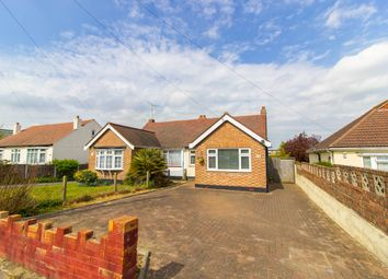 Thumbnail 2 bed semi-detached bungalow for sale in Woodcutters Avenue, Leigh-On-Sea
