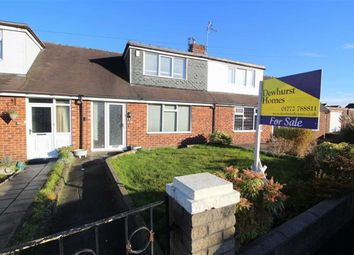 Thumbnail 2 bed terraced bungalow for sale in Hollins Grove, Fulwood, Preston