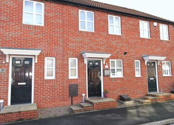 Thumbnail 2 bed terraced house for sale in Wood Street, Warsop, Mansfield