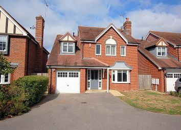 Thumbnail 4 bed detached house to rent in Eaves Close, Addlestone