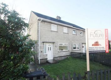 Thumbnail 2 bed semi-detached house for sale in 35, Staffa Avenue, Port Glasgow PA146Ds