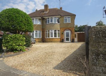 Thumbnail 3 bed semi-detached house for sale in Brudenell Drive, Stoke Mandeville, Aylesbury
