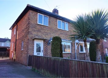 Thumbnail 3 bed semi-detached house for sale in Milton Road, Carcroft, Doncaster