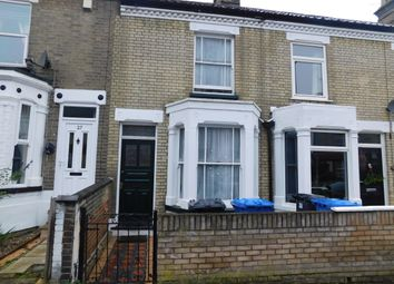 Thumbnail 2 bed terraced house to rent in Turner Road, Norwich