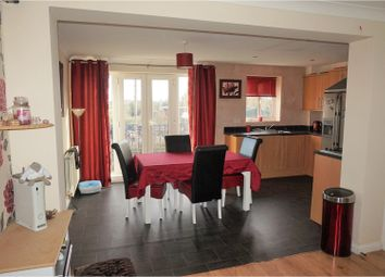 Thumbnail 4 bedroom town house for sale in Foxholme Court, Crewe