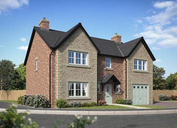 Thumbnail 4 bed detached house for sale in Waterside Cottam Way, Cottam, Preston