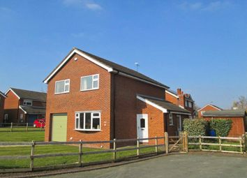 Thumbnail 4 bed detached house to rent in Wrenbury, Nantwich, Cheshire