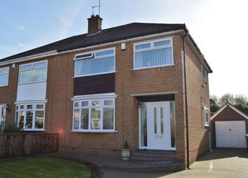 Thumbnail 3 bedroom semi-detached house for sale in Regency Avenue, Normanby, Middlesbrough