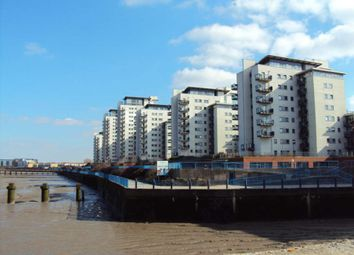 Thumbnail 1 bed flat to rent in Available Now - Erebus Drive, Royal Artillery Quays, Riverside