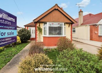 Thumbnail 2 bed detached bungalow for sale in Morgan Road, Prestatyn