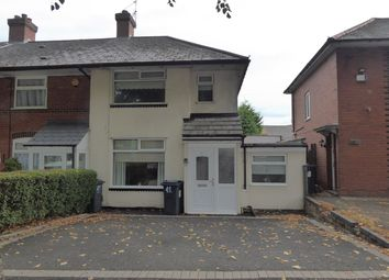 Thumbnail 2 bed end terrace house for sale in Wasdale Road, Birmingham