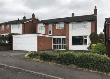 Thumbnail 5 bed detached house for sale in Windrush Drive, Oadby, Leicester