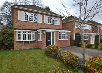 Thumbnail 4 bed detached house for sale in Howard Close, Fleet