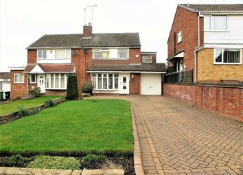 Thumbnail 3 bed semi-detached house for sale in Oakland Drive, Dudley