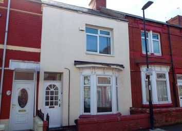 Thumbnail 3 bed terraced house to rent in Milton Road, Hartlepool