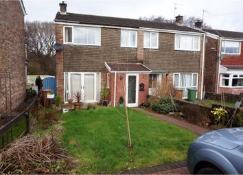 Thumbnail 3 bed semi-detached house to rent in Sir Stafford Close, Caerphilly