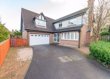 Thumbnail 4 bed detached house for sale in Albyn Drive, Murieston, Livingston